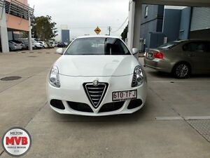 2013 Alfa Romeo Giulietta 1.4 White 6 Speed Manual Hatchback Ascot Brisbane North East Preview