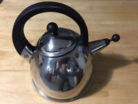 AGA stove top stainless steel kettle