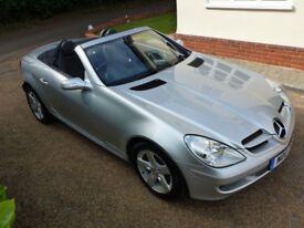 57 Mercedes SLK 280 Automatic 29,000 miles Full Mercedes service history 2 owners