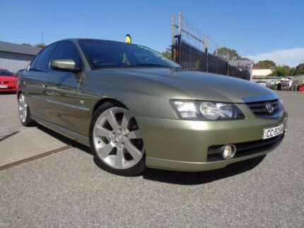2002 Holden Calais VY Green 4 Speed Automatic Sedan Pooraka Salisbury Area Preview
