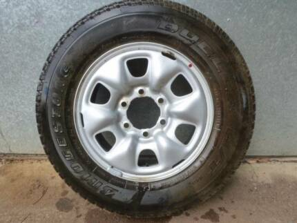 Toyota Hi-Lux 17 inch Rim & Tyre, Brand new, never used