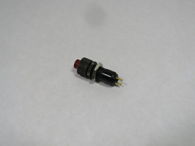 Dialight 508-8738-504-R Indicator Light 2 Pin RED  USED