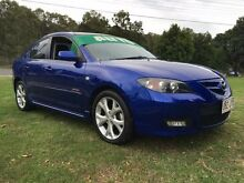 2006 Mazda 3 BK MY06 Upgrade SP23 Blue 5 Speed Auto Activematic Hatchback Clontarf Redcliffe Area Preview