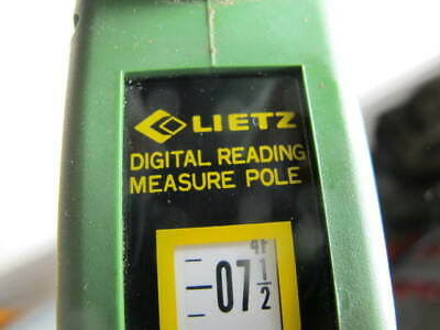 Lietz Digital Reading Measuring Pole