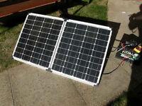 100 watt SOLAR PANEL (Folding suitcase style)