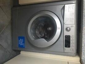 silver indesit washer dryer 7+5KG