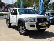 2008 Mazda BT-50 08 Upgrade B3000 Freestyle DX+ White 5 Speed Manual Cab Chassis Belconnen Belconnen Area Preview