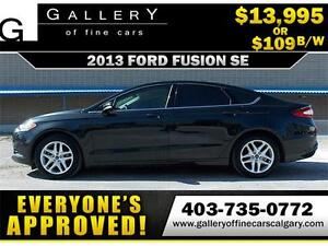 2013 Ford Fusion SE $109 bi-weekly APPLY NOW DRIVE NOW