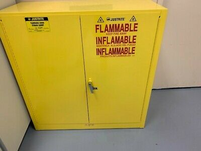 Justrite 25300 Flammable Liquid Fire Cabinet - 30 Gal Capacity