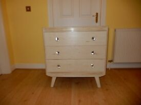 Stunning Solid Wood Shabby Chic Chest of Drawers