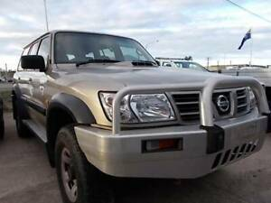 2002 Nissan Patrol ST Manual SUV Mount Louisa Townsville City Preview