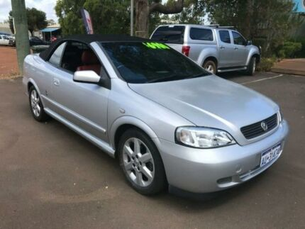 2002 Holden Astra TS Silver 5 Speed Manual Convertible Margaret River Margaret River Area Preview
