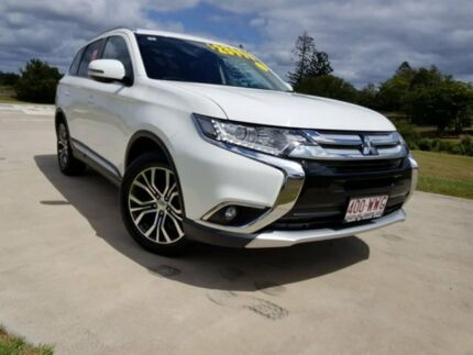 2016 Mitsubishi Outlander ZK MY17 LS 2WD White 6 Speed Constant Variable Wagon Gympie Gympie Area Preview