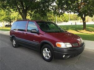 2004  PONTIAC MONTANA , 8 PASSAGERS  , AUTOMATIQUE , AIR CLIMATI