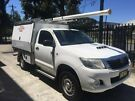 Toyota Hilux SR single Cab 4x4 Diesel manual 2013 ex-Telstra. MY14 upgrade
