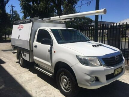 Toyota Hilux SR single Cab 4x4 Diesel manual 2013 ex-Telstra.  MY14 upgrade Seven Hills Blacktown Area Preview