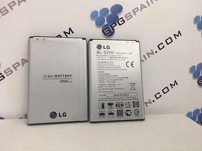 Batería ORIGINAL  LG G3 D855 (BL-53YH) 2950MHA ALTA DURABILIDAD envio GRATIS ()