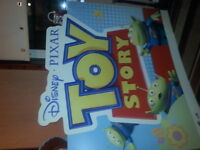 2 large TOY STORY cardboard pictures