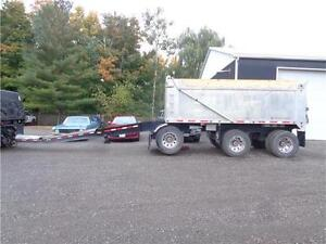 2016 CROSS COUNTRY 17'FT ALUMINUM PONY PUP DUMP TRAILER Kitchener / Waterloo Kitchener Area image 2