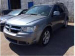 2009 DODGE JOURNEY SXT, 7 PSGR, REAR A/C, HEATED SEATS, LOW KMS!
