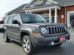 2016 Jeep Patriot High Altitude 4x4, Leather Heated Seats, Bluet