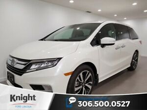 2018 Honda Odyssey Touring, Leather, Sunroof, Rear DVD, Navigati