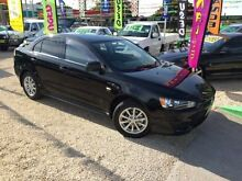 2010 Mitsubishi Lancer CJMY10 Active Black 6 Speed Automatic Sedan Islington Newcastle Area Preview