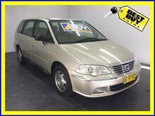 2002 Honda Odyssey 2nd Gen MY2002 V6-L Gold 4 Speed Automatic Wagon Cabramatta Fairfield Area Preview