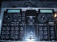 Numark ICDMIX3 Dual MP3/CD System WITH NUMARK PRO FLIGHT CASE