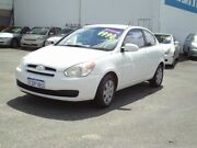 2007 Hyundai Accent White Automatic Hatchback Embleton Bayswater Area Preview