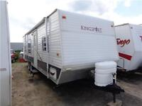 2007 Kingsport 275FBD, Bunks!