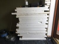 EXPANDED POLYSTYRENE SHEETS FOAM PACKING- Used as floor insulant