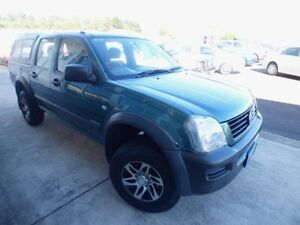 2003 Holden Rodeo TFR9 MY02 LX Green 5 Speed Manual Crewcab Devonport Devonport Area Preview