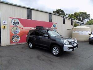 2011 Toyota Landcruiser Prado KDJ150R GXL Graphite 5 Speed Automatic Wagon Gosford Gosford Area Preview