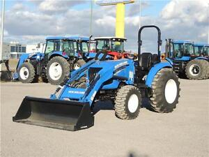 2015 New Holland Boomer 41 - 40hp, FWA, Loader, 3pt. hitch