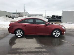2012 Chevrolet Cruze LT Turbo+ w/1SB-PWR ROOF-WINTER TIRES