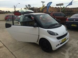 2012 Smart ForTwo 451 MY11 Domino Edition mhd White 5 Speed Seq Manual Auto-Clutch Coupe Queanbeyan Area Preview
