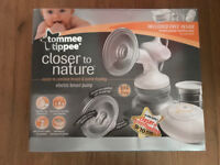 Tommee Tippee Closer to Nature Electric Breast Pump Set, RRP £106.99, As New & Boxed, Bargain £45
