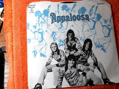 Appaloosa Roll Me Over Near Mint Concord Such A Woman True  Pop 45