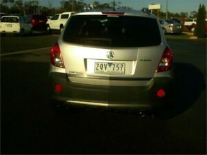 2013 Holden Captiva CG MY13 5 LT (FWD) Silver 6 Speed Manual Wagon Traralgon Latrobe Valley Preview