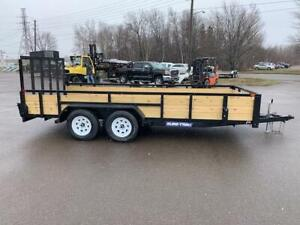 NEW 2019 SURE-TRAC 7' x 16' 3-BOARD LANDSCAPE TRAILER