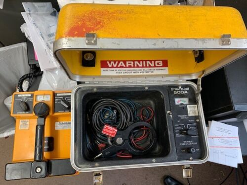 Dynatel 500A Fault (Cable/Pipe) Locator