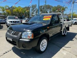 2014 Nissan Navara D22 S5 DX 4x2 Black 5 Speed Manual Cab Chassis Lansvale Liverpool Area Preview