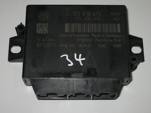 VW Touran Park Distance PDC Einparkhilfe Steuergerät V+H 8 Kanal PLA 1T0919475