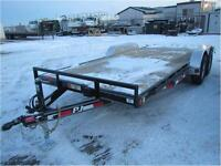 New PJ Trailers *** 18 Foot *** 10,400 LB GAWR Flatdeck !!!