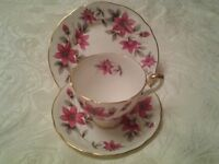 Royal Stafford Bone China Tea Set - Vintage