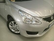 2014 Nissan Pulsar C12 ST Silver 1 Speed Constant Variable Hatchback Edgewater Joondalup Area Preview