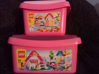 LEGO Pink Box Sets 5585 & 5560