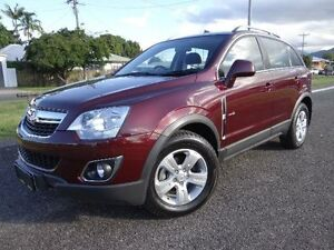 2012 Holden Captiva CG Series II 5 (4x4) Maroon 6 Speed Automatic Wagon Bungalow Cairns City Preview