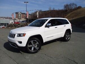 2016 Jeep GRAND CHEROKEE LIMITED (ONLY 11000 KMS, 4X4, NAVIGATIO